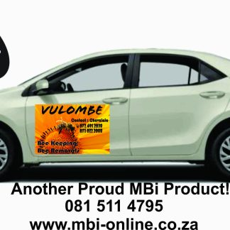 MBi Vehicle magnetic Sticker - Signage